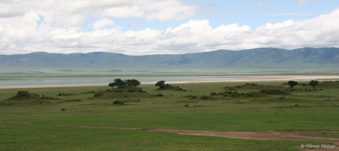 The Ngorongoro Crater during the rainy season