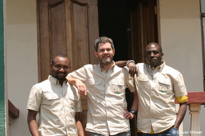 The masculine part of the Hyena Project team
